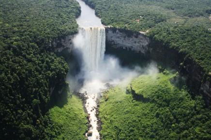vodopád Kaieteur, jižní Amerika