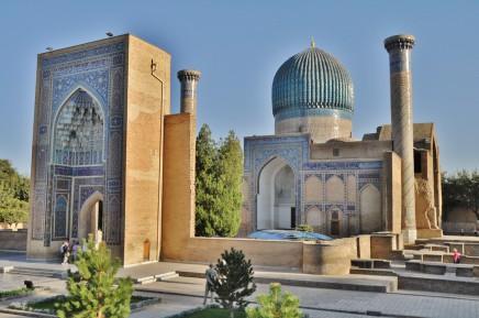 Střední Asie, Uzbekistán, Samarkand