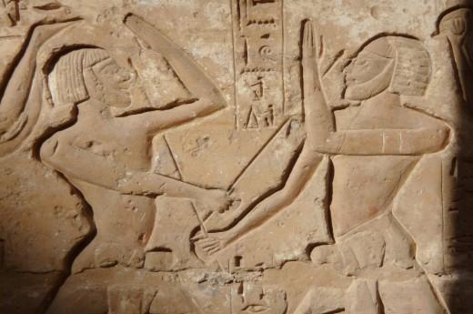 Uvidíte umění starých egypťanů