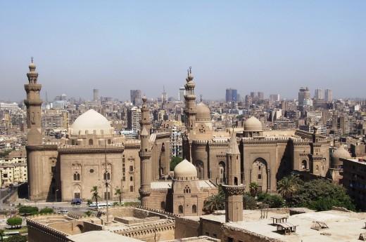 Těšit se můžete na egyptskou architekturu