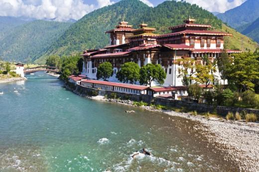 Těšit se můžete na bhútánskou architekturu