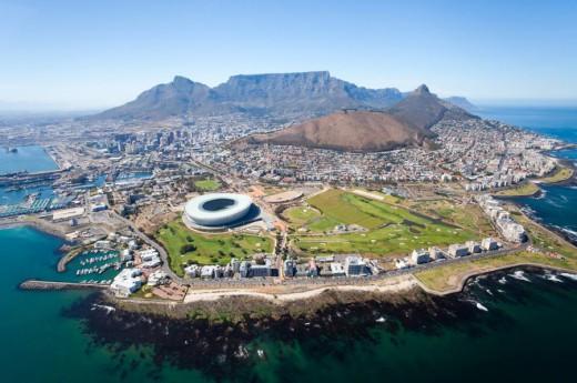 Jižní Afrika - Kapské Město