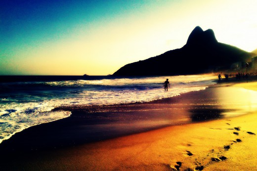 Těšit se můžete na západy slunce na plážích Ria