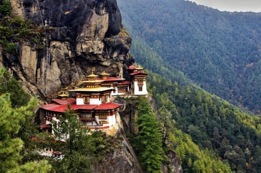 klášte Tygří hnízdo, Bhután