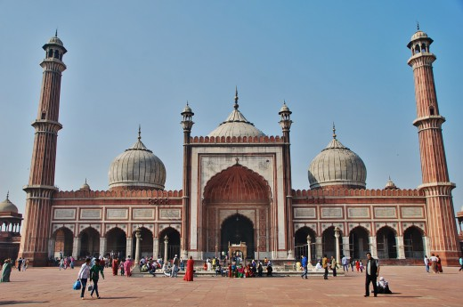 Indie, Dillí, mešita Jama Masjid