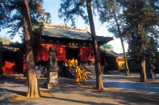 Shaolin, Čína