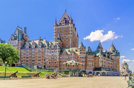 V Quebec city si prohlédnete ikonickou stavbu města