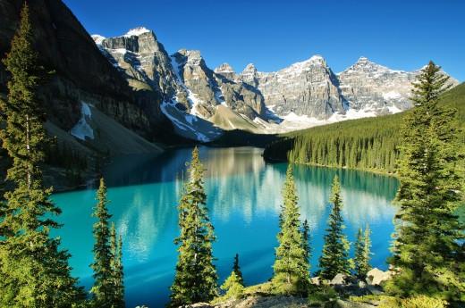 Národní parky Kanady
