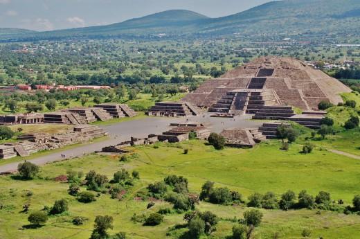 Mexiko - Teotihuacan
