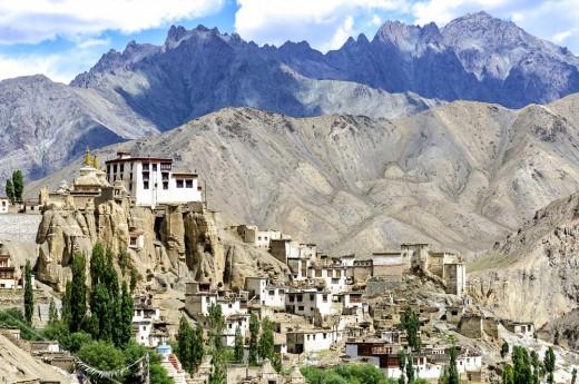 Indie, Ladakh, Leh