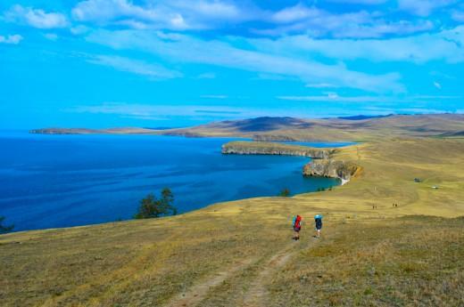 Rusko - Bajkalské jezero