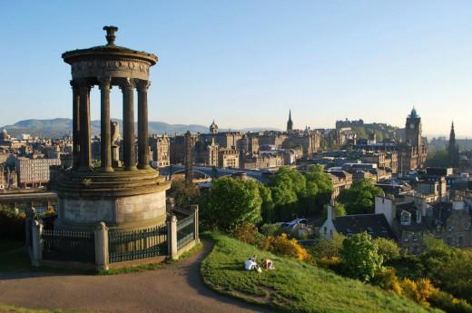 Skotsko, Edinburgh