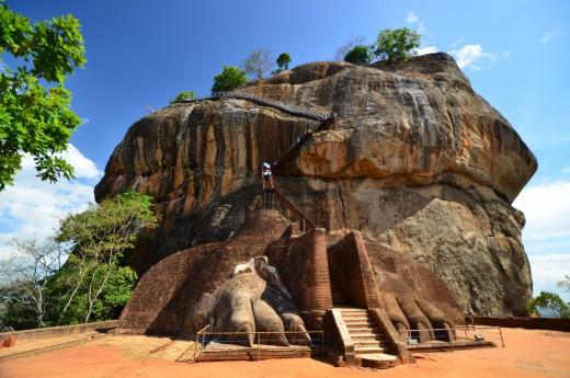 Dojdeme k osmému divu světa, k Sigiriyi