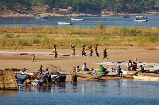 Afrika, Zambie