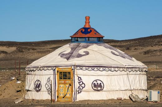 Poznáte, jak vypadá typická jurta